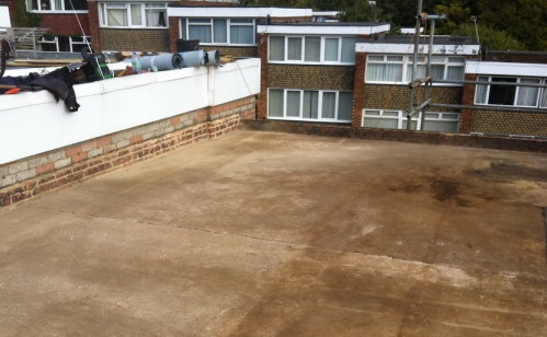 Roofing Repair London Flat Clean Roof